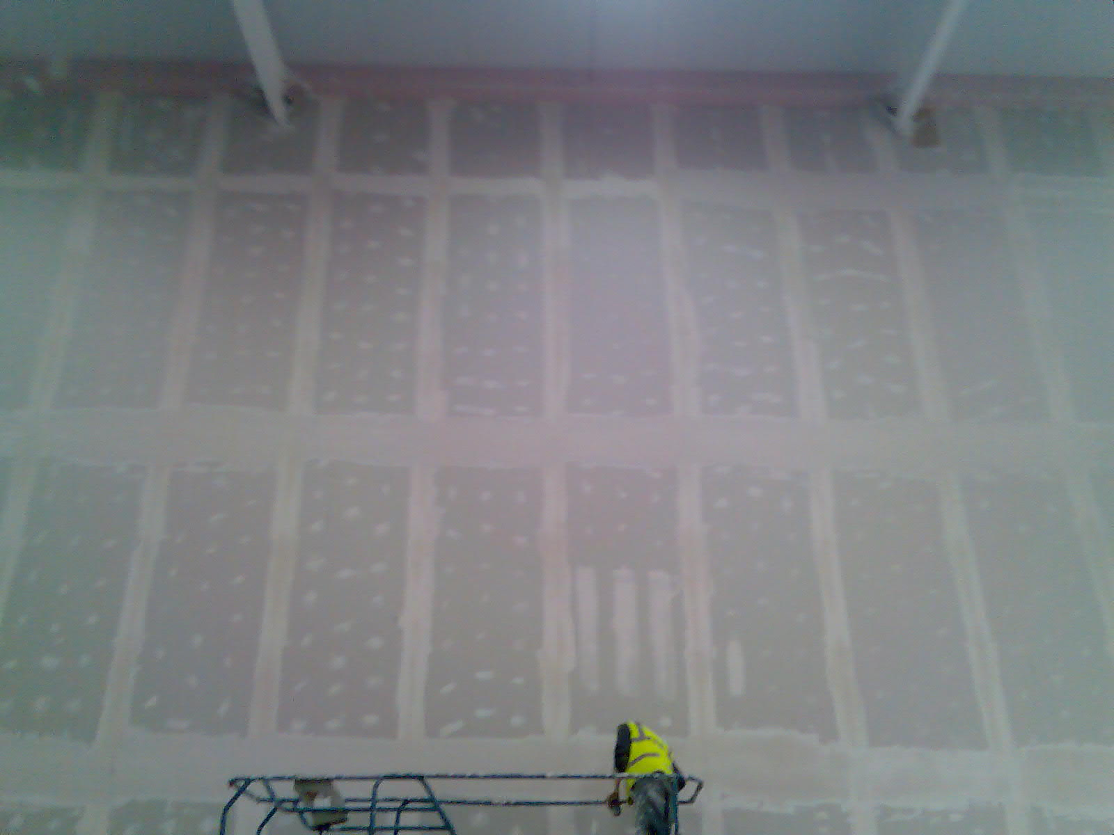 Example of our taping and jointing service